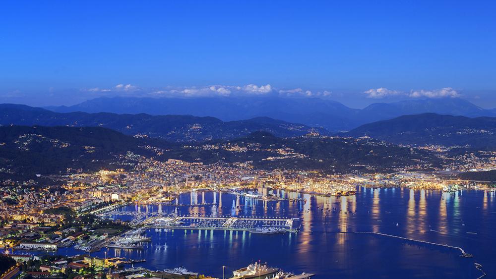 View of La Spezia