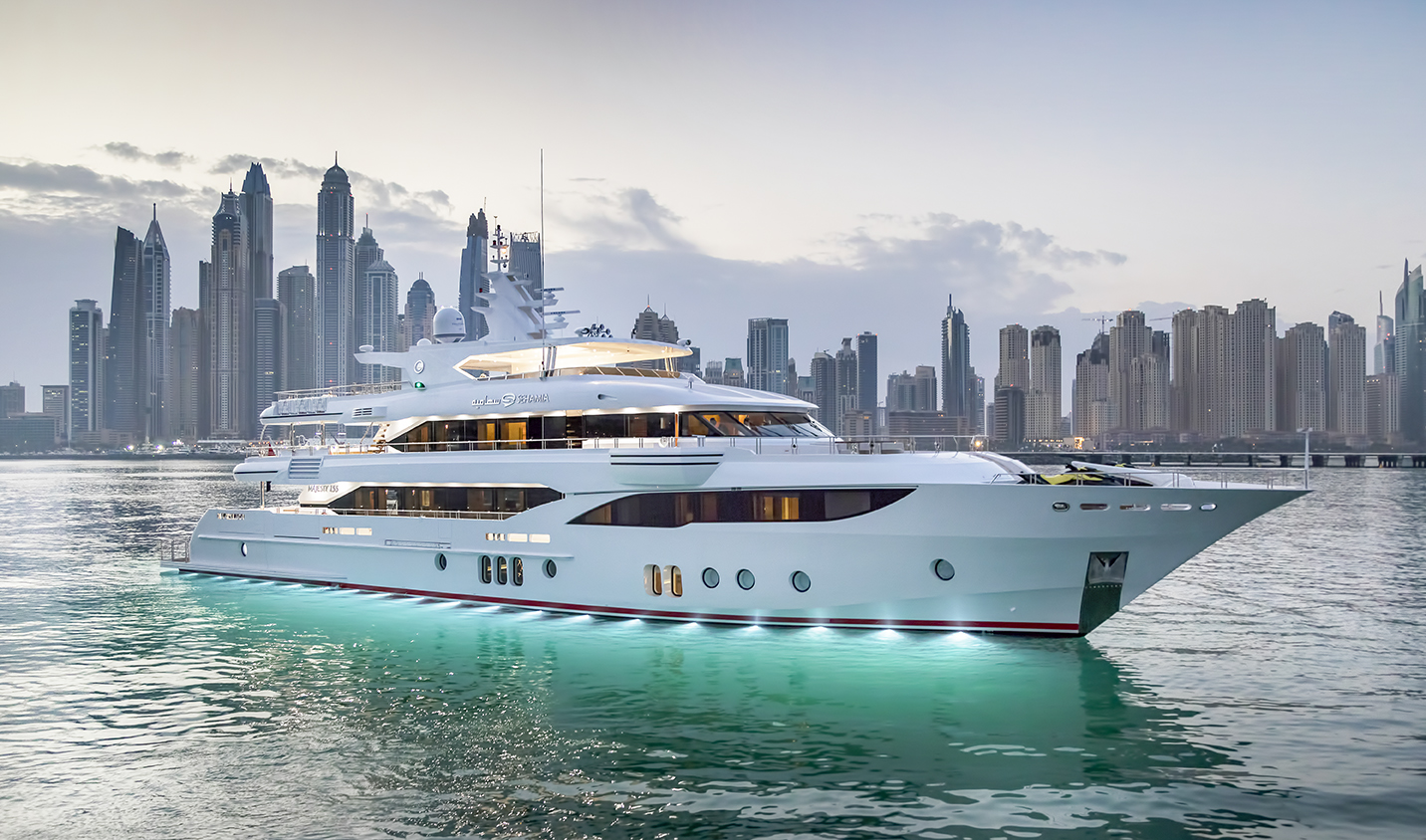Gulf Craft Majesty 155 superyacht