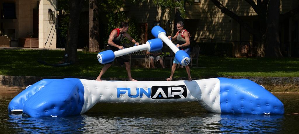Glatiator Fighting FunAir Yacht Joust