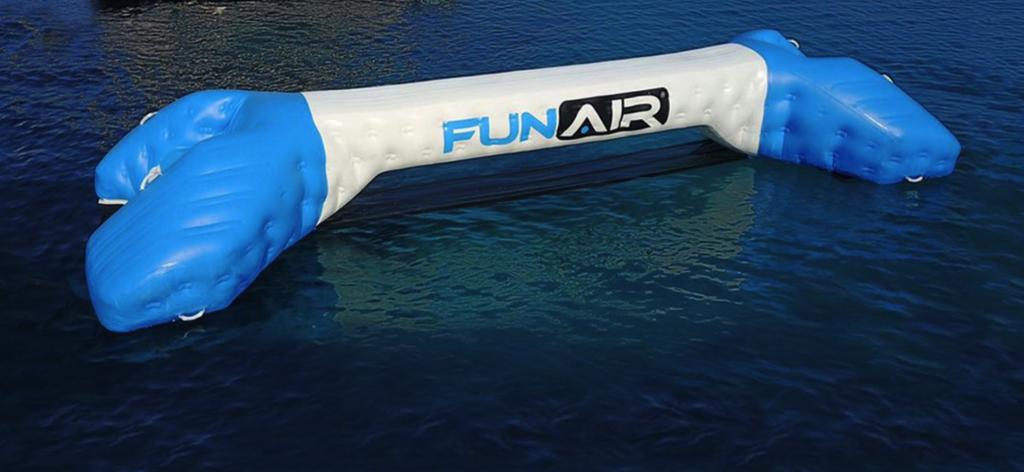 Yacht Joust FunAir Yacht Toy
