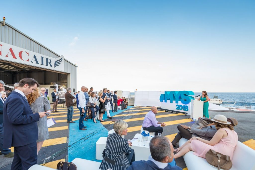 MYS2018 Monacair coacktail event