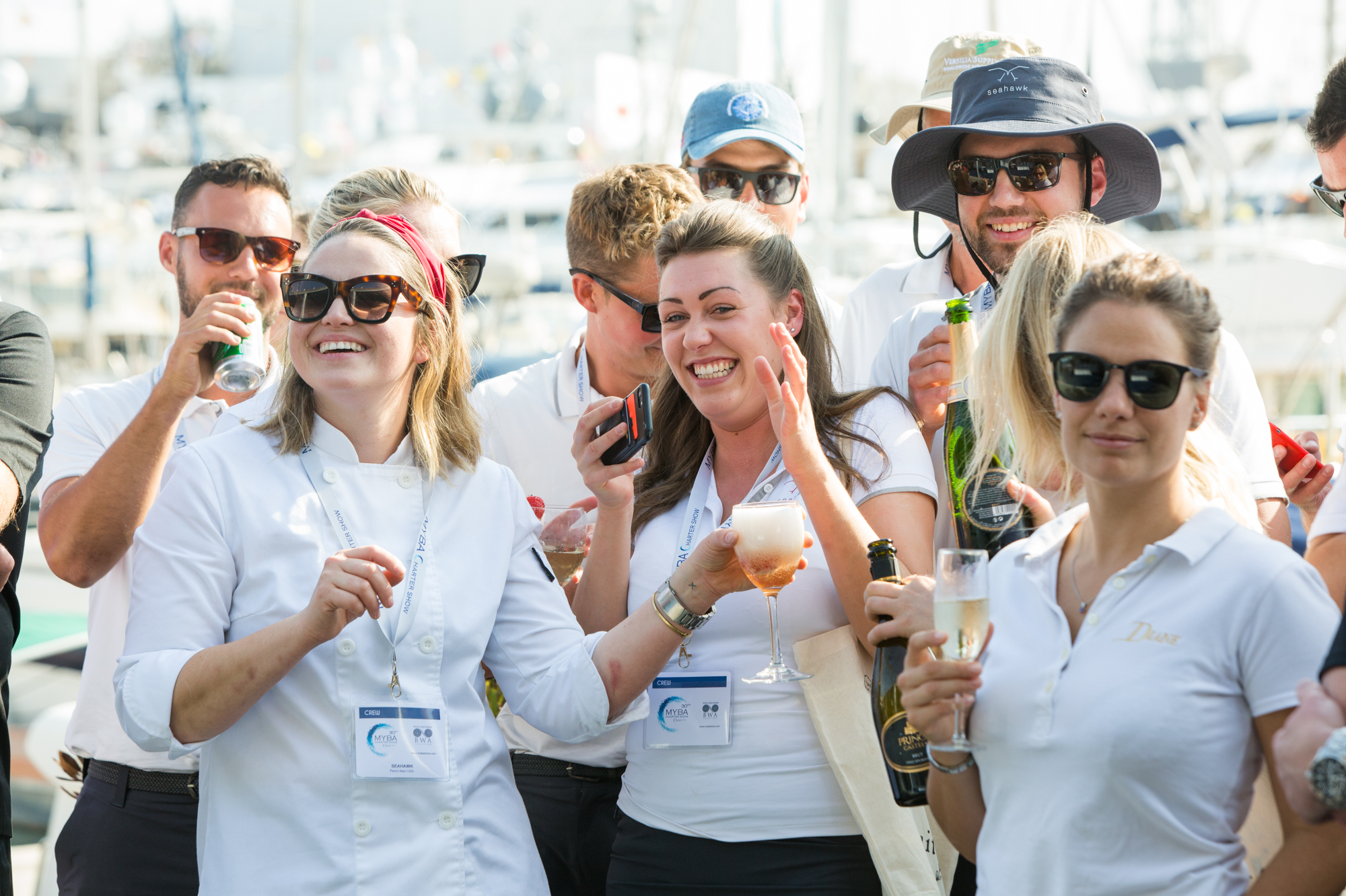 Superyacht chefs at MYBA Charter Show