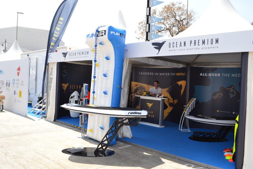 A booth at MYBA Show