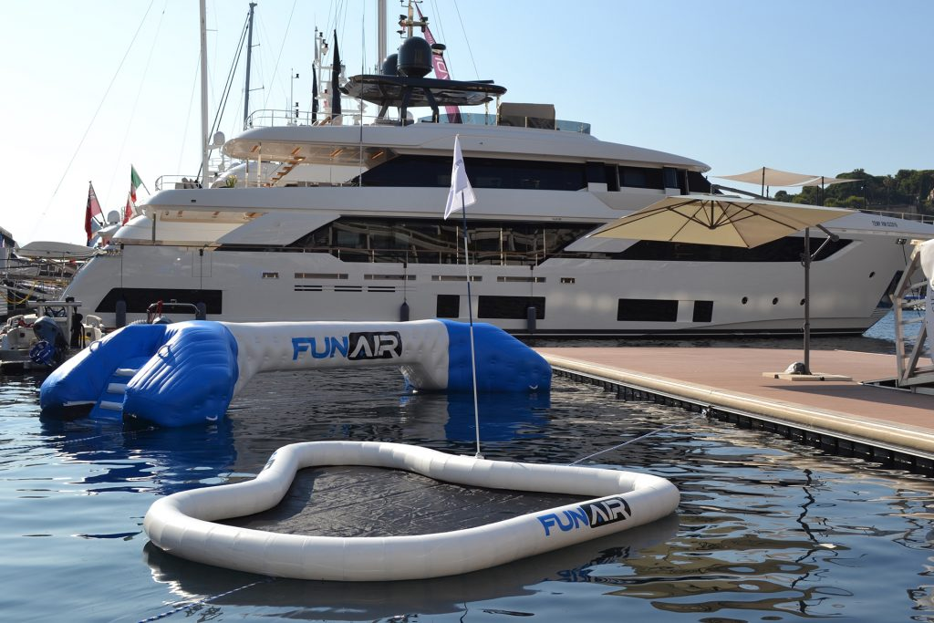 FunAir yacht golf and joust available from Superyacht Tenders and Toys