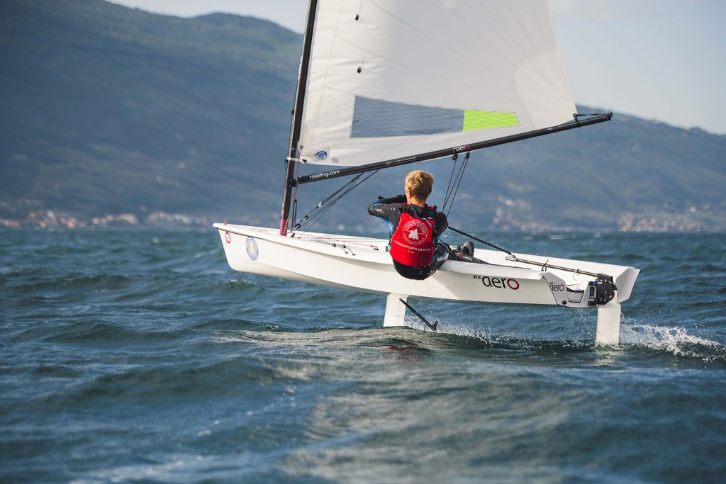 RS Aero foiling available from Superyacht Tenders and Toys