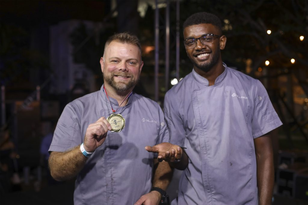 Best Yacht Chef Danny Davies at the Fort Lauderdale International Boat Show
