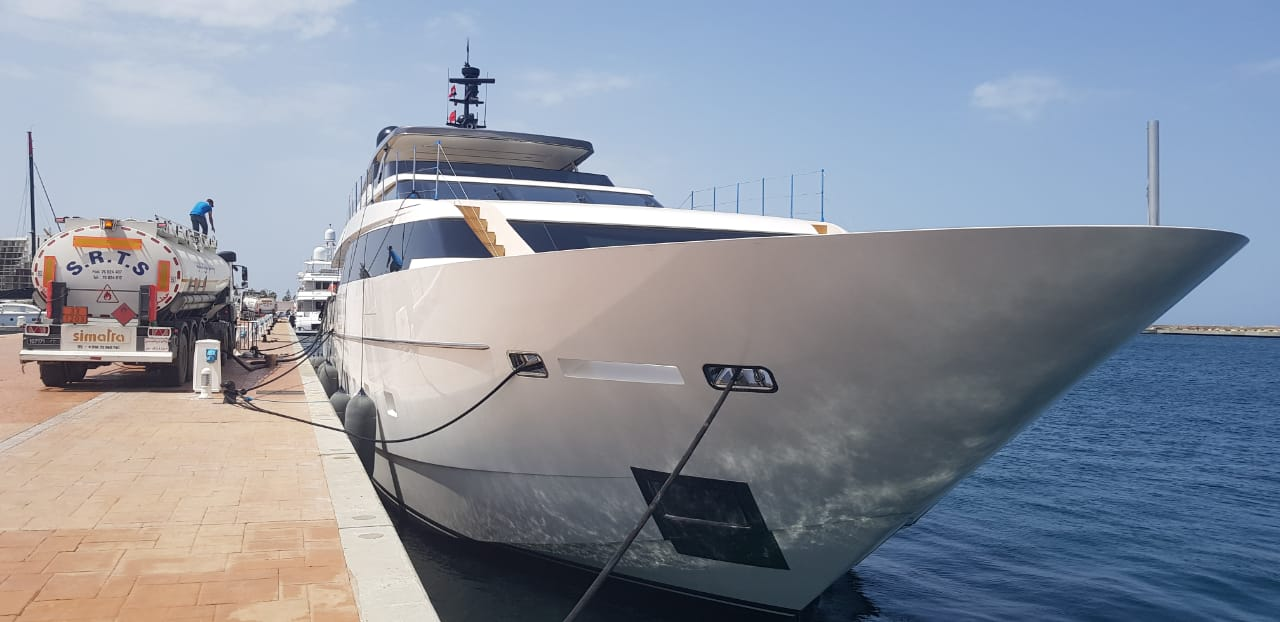 superyacht bunkering in Tunisia